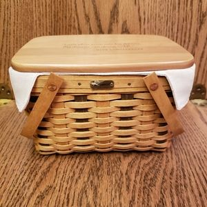 Longaberger Home Office 10th Anniversary Basket